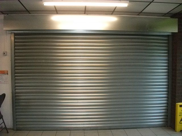 industrial roller shutter door